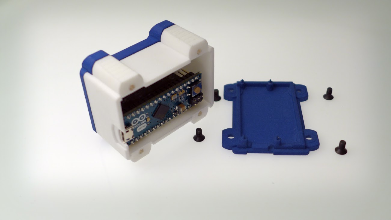 openQCM the open source quartz crystal microbalance project has an Arduino electronic board inside the heart