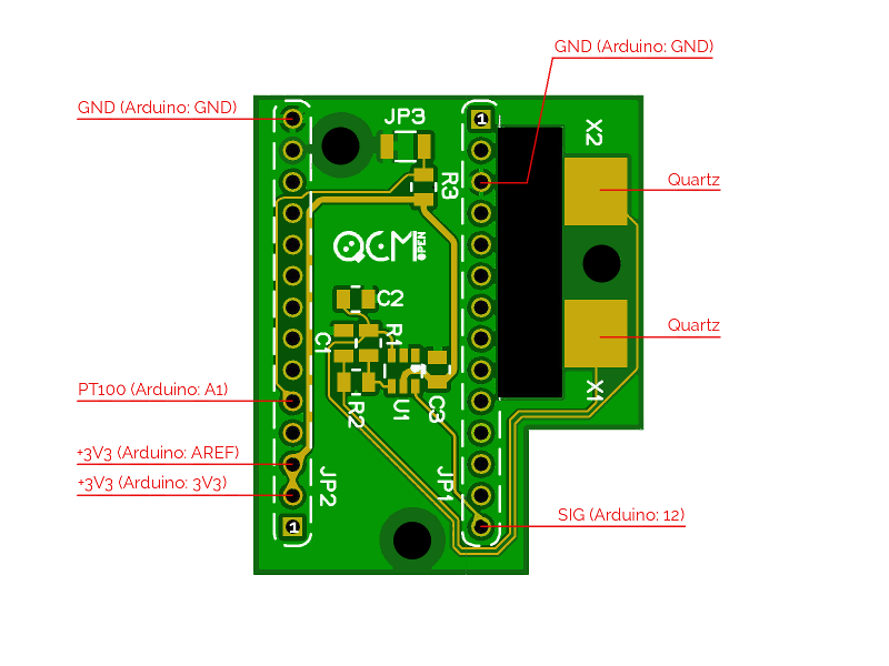 The custom design of openQCM quartz crystal microbalance shield the PCB electronics at the heart of the open source project