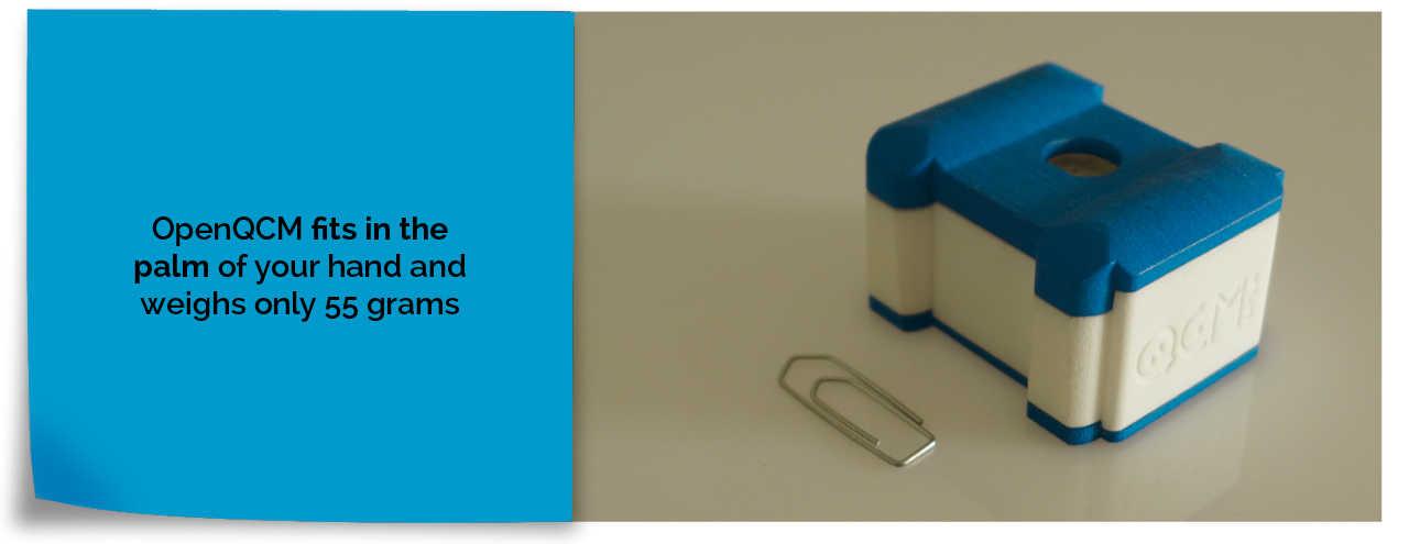 Quartz Crystal Microbalance Dimensions